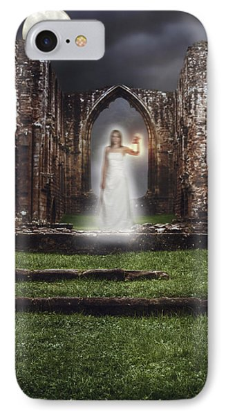 Abbey Ghost IPhone Case