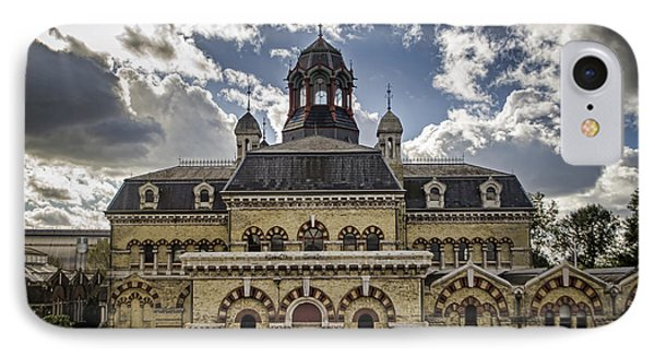 Abbey Mills Pumping Station Phone Case by Heather Applegate