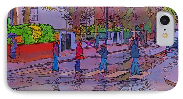 Abbey Road Crossing Phone Case by Chris Thaxter