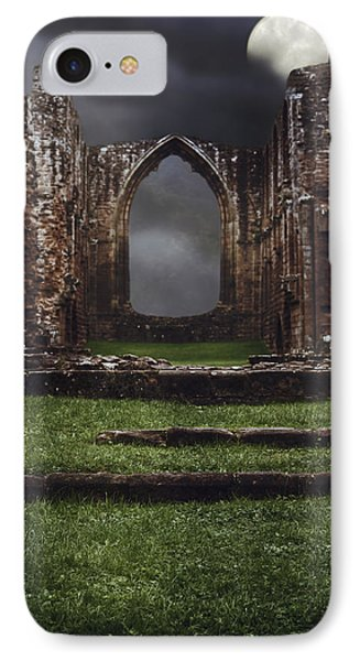 Abbey Steps IPhone Case by Amanda Elwell