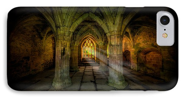Abbey Sunlight IPhone Case by Adrian Evans