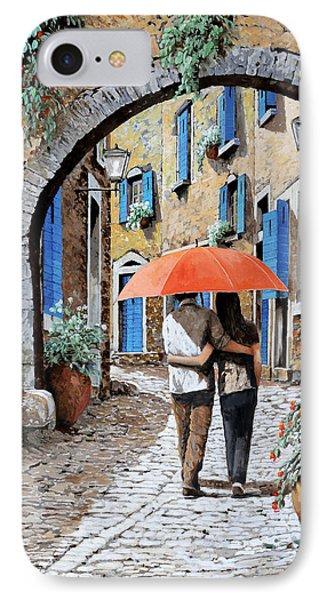 Abbracciati Sotto L'arco IPhone Case by Guido Borelli