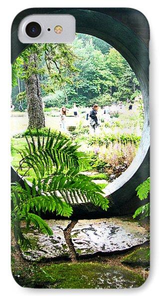 IPhone Case featuring the photograph Abby Aldrich Garden Portal by Lizi Beard-Ward