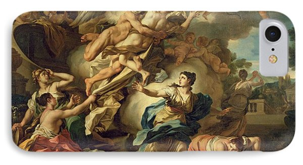 Abduction Of Orithyia IPhone Case by Francesco Solimen