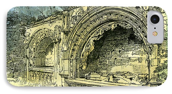 Aberdeen Bishop Dunbars Tomb In The Old Machar Cathedral IPhone Case