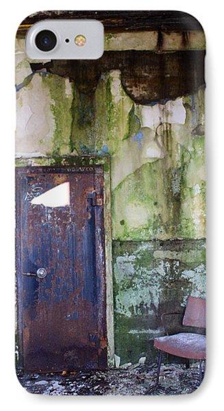 Aberdeen Chair IPhone Case by Suzanne Lorenz