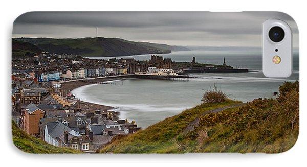 Aberystwyth From Consti IPhone Case by Izzy Standbridge