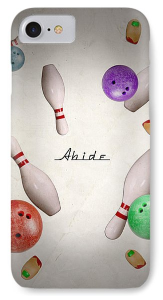Abide IPhone Case by Filippo B
