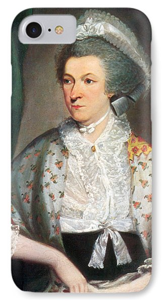 Abigail Adams, First Lady IPhone Case by Science Source