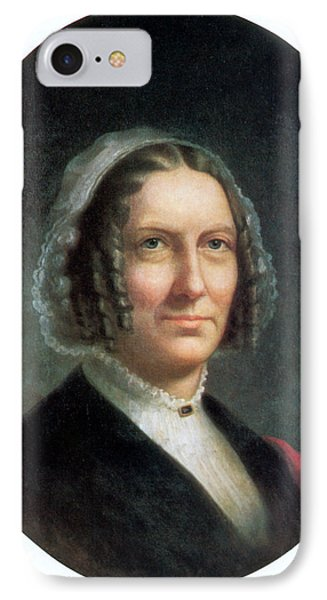 Abigail Fillmore, First Lady IPhone Case by Science Source