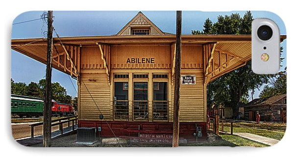 Abilene Station IPhone Case by Mary Jo Allen