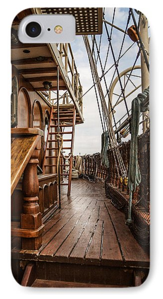 Aboard The Tall Ship Peacemaker IPhone Case