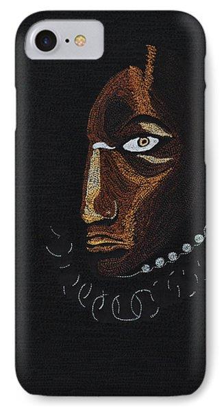 Aboriginal Woman IPhone Case by Jo Baner
