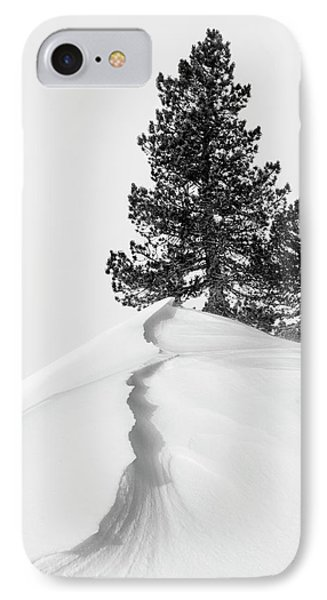 About The Snow And Forms IPhone Case