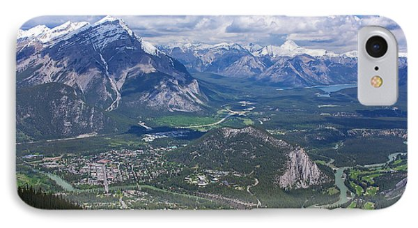 Above Banff IPhone Case by Stuart Litoff