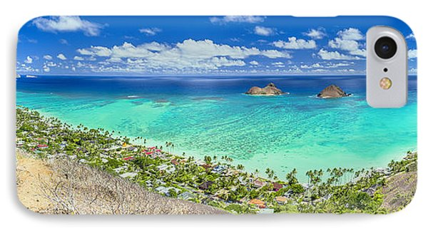 IPhone Case featuring the photograph Above Lanikai Beach by Aloha Art