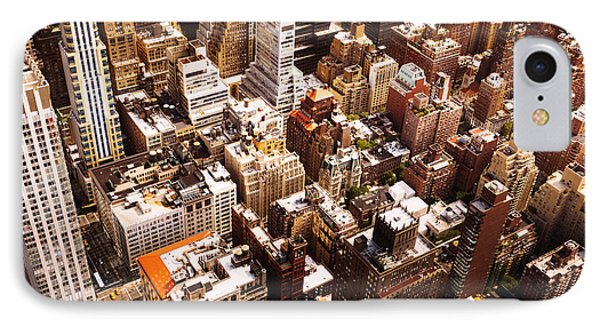 Above New York City Phone Case by Vivienne Gucwa