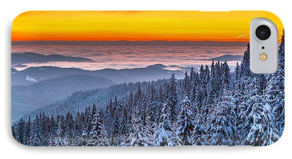 Above Ocean Of Clouds Phone Case by Evgeni Dinev
