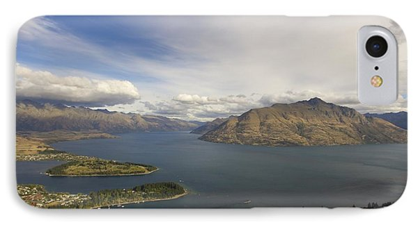 Above Queenstown #2 IPhone Case by Stuart Litoff
