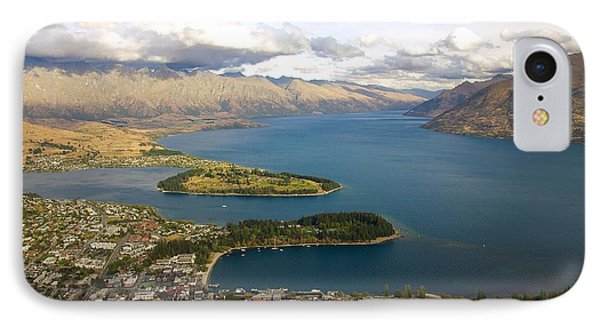 Above Queenstown IPhone Case by Stuart Litoff