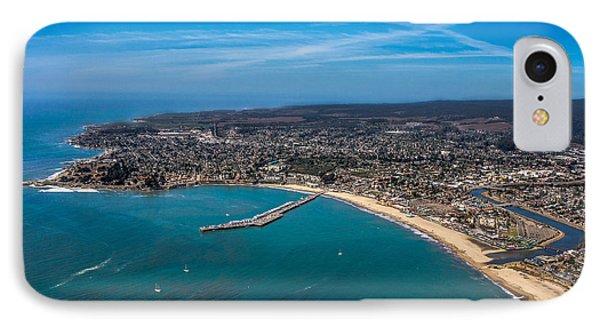 Above Santa Cruz California Looking West IPhone Case by Randy Straka