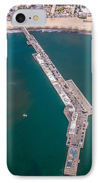 Above Santa Cruz Wharf IPhone Case