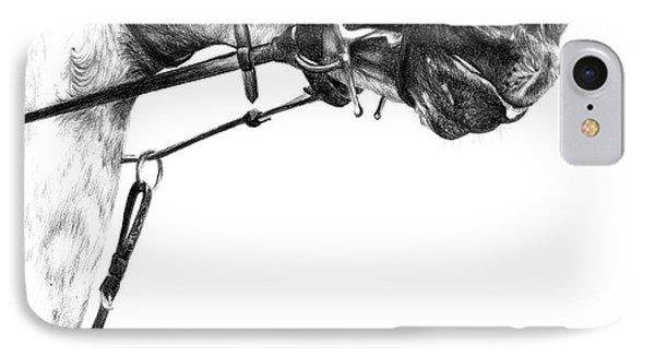 Above The Bit Phone Case by Sheona Hamilton-Grant