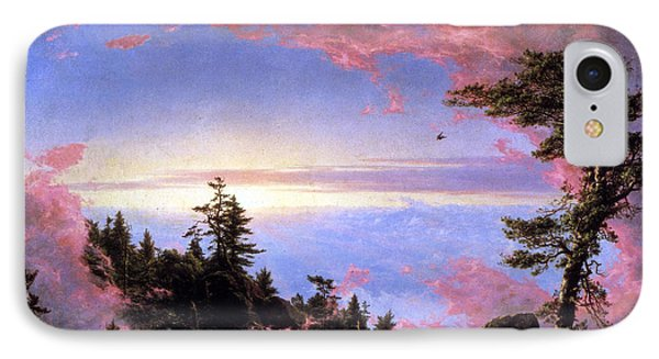 Above The Clouds At Sunrise By Frederick Edwin Church IPhone Case