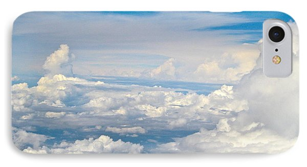 Above The Clouds Over Texas Image B IPhone Case
