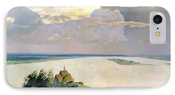 Above The Eternal Peace IPhone Case by Isaak Ilyich Levitan