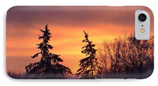 Above The Horizon IPhone Case by Ellery Russell