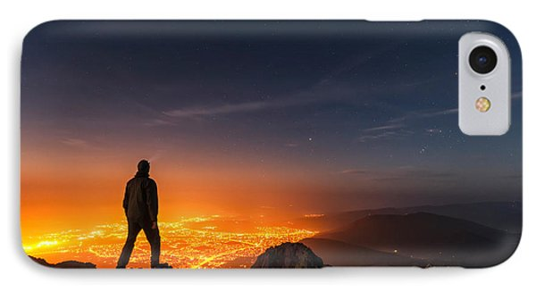 Above The Night Phone Case by Evgeni Dinev