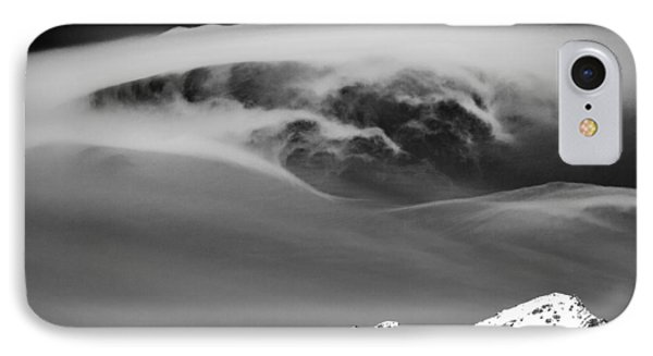 Above The Peaks Phone Case by Dave Bowman