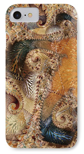 IPhone Case featuring the digital art Abracadabra by Kim Redd