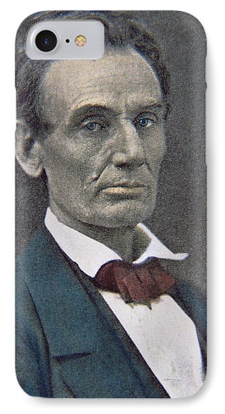 Abraham Lincoln IPhone Case by American Photographer