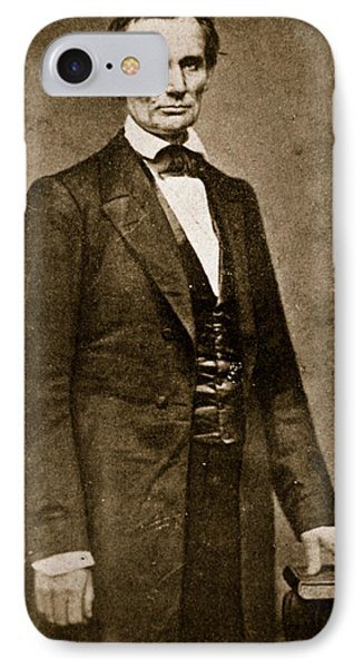 Abraham Lincoln IPhone Case by Mathew Brady