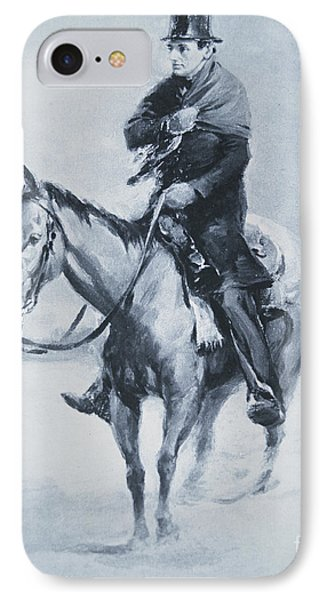 Abraham Lincoln Riding His Judicial Circuit IPhone Case
