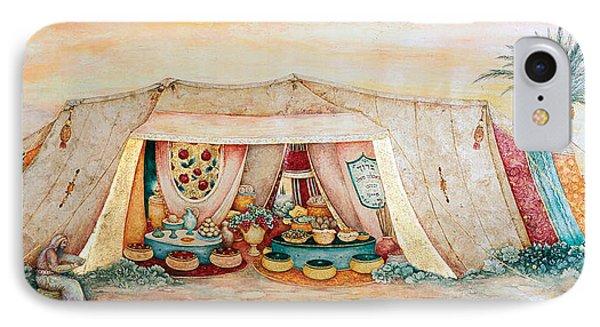 Abraham's Tent Phone Case by Michoel Muchnik