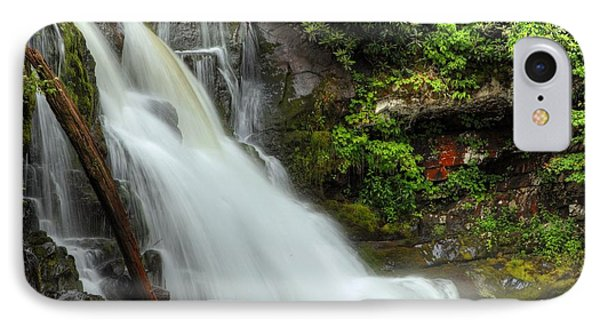 IPhone Case featuring the photograph Abrams Falls Cade's Cove Tn by Coby Cooper