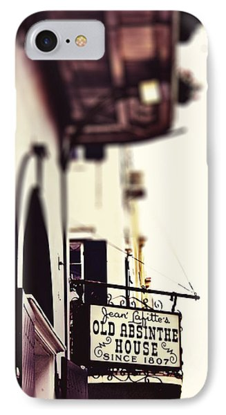 IPhone Case featuring the photograph Absinthe House by Heather Green