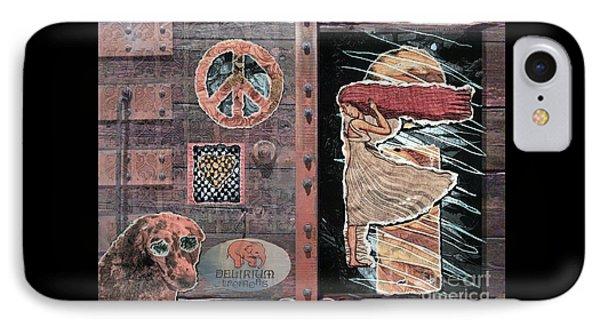 Absinthe Night In Brussels Phone Case by Joseph J Stevens