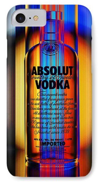 Absolut Abstract IPhone Case by Chuck Staley