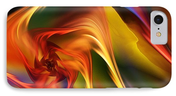 IPhone Case featuring the digital art Abstract 031814 by David Lane