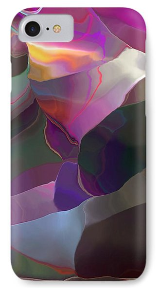 IPhone Case featuring the digital art Abstract 033014 by David Lane
