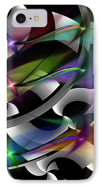 IPhone Case featuring the digital art Abstract 072514 by David Lane