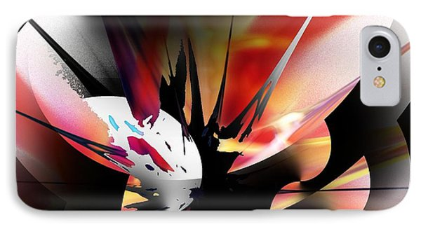 IPhone Case featuring the digital art Abstract 082214 by David Lane
