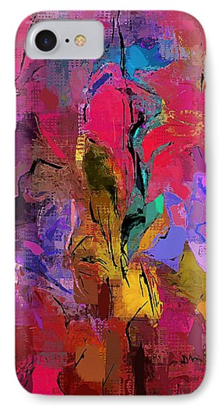 IPhone Case featuring the digital art Abstract 082313-1 by David Lane