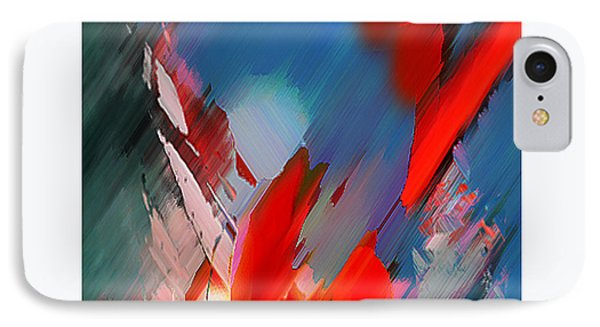 Abstract 11 Phone Case by Anil Nene