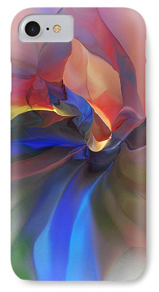 IPhone Case featuring the digital art Abstract 121214 by David Lane