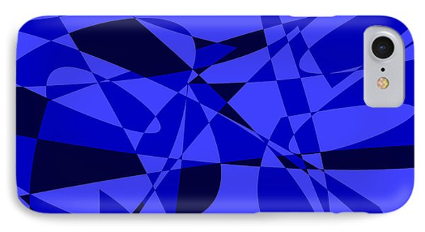 Abstract 153 Phone Case by J D Owen